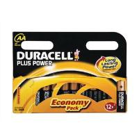 Duracell Plus Battery AA Pack of 12 81275378