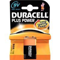 Duracell Plus Battery 9V Pk 1 81275454