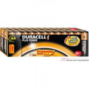 Duracell Plus Battery AA Pack of 24 81275383