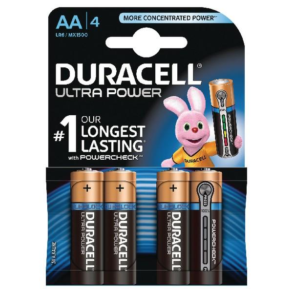 Duracell Ultra Battery Pk 4 AA 75051955