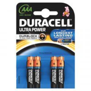 Duracell Ultra Battery Pk 4 AAA 75051959
