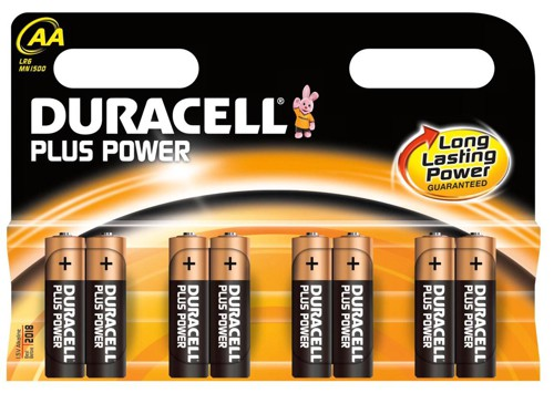 Duracell Plus Battery AAA Pack of 8 75052868
