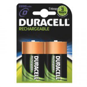 Duracell Rechargeable ACCU NiMH Battery D Pk 2 15038743
