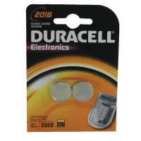 Image for Duracell Button Battery Lithium 3V DL2016 Pack of 2 75072666
