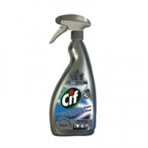 Cif Professional Stainless Steel/Glass Cleaner 750ml 7517938