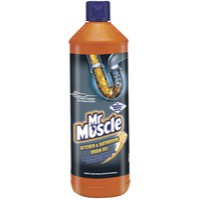 Mr Muscle Kitchen/Bath Drain Gel 1 Litre 7518634