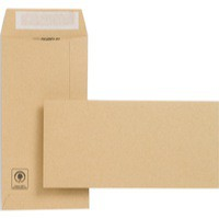 New Guardian Envelopes Heavyweight Pocket Peel and Seal Manilla DL [Pack 500]