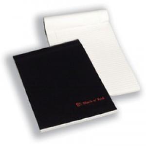 Black n Red Executive Desk Pad 90gsm Margin Ruled 50 Leaf A4 Code 100100861