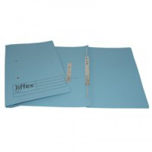 Acco Eastlight Jiffex File Foolscap Blue 43213EAST