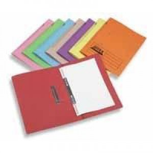 Acco Eastlight Jiffex File Foolscap Yellow 43219EAST