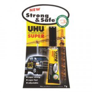 UHU All Purpose Strong And Safe Adhesive 7gm 39722