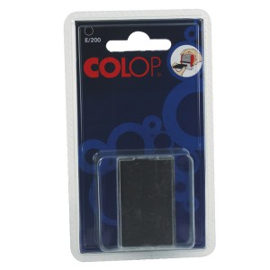 Colop E/200 Replacement Pad Black E200Black Pk 2