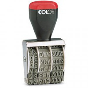 Colop Date Stamp Blister Pk 05000