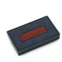 Colop E/4850 Replacement Pad Blue/Red E4850 Pk 2