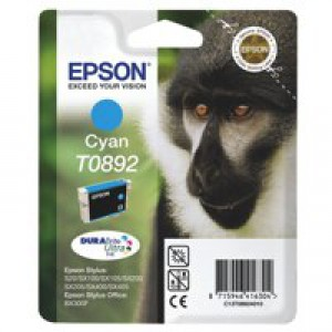 Epson Ink Cartridge T0892 Cyan C13T08924011
