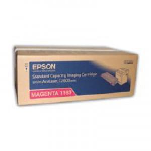 Epson AcuLaser C2800 Standard Capacity Toner Magenta C13S051163