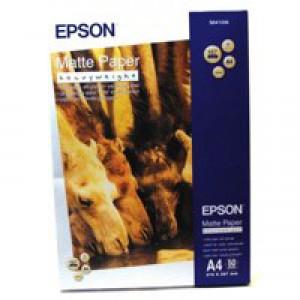 Epson A4 Matte Paper Hwt Pk50 S041256