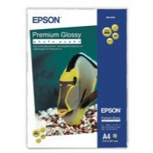 Epson Premium Glossy Photo Paper A4 Pack of 50 C13S041624