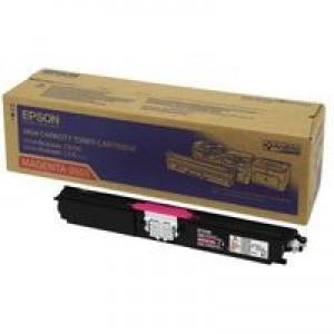 Epson AcuLaser C1600/CX16 Toner Cartridge High Capacity 2.7K Magenta C13S050555