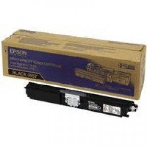 Epson AcuLaser C1600/CX16 Toner Cartridge High Capacity 2.7K Black C13S050557
