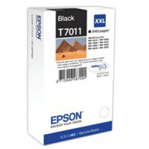 Epson WP4000/4500 Inkjet Cartridge Extra High Yield Black C13T70114010