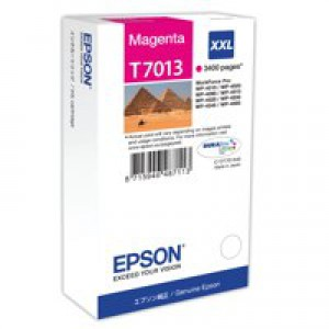 Epson WP4000/4500 Inkjet Cartridge Extra High Yield Magenta C13T70134010