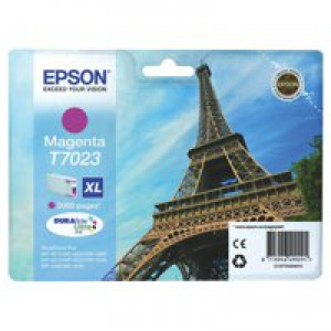 Epson WP4000/4500 Inkjet Cartridge High Yield Magenta C13T70234010