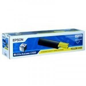 Epson AcuLaser C1100 Standard Capacity Toner Cartridge Yellow C13S050191