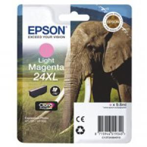 Epson XP750/850 Elephant Inkjet Cartridge 24XL High Yield Light Magenta
