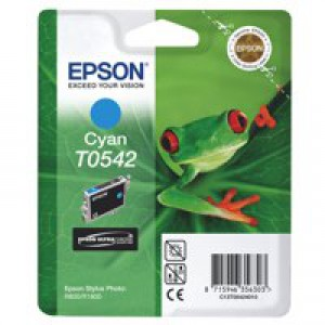 Epson Stylus Photo R800 Inkjet Cartridge Cyan 13ml T0542 C13T054240