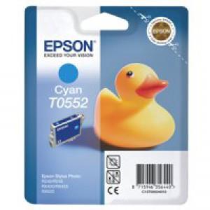 Epson Stylus RX420 Inkjet Cartridge Cyan 8ml T0552 C13T055240