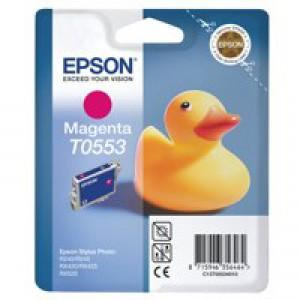 Epson T0553 Inkjet Cartridge Duck Magenta Ref C13T05534010