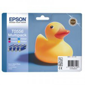 Epson Inkjet Cartridge Photo Quad Pack C13T05564010