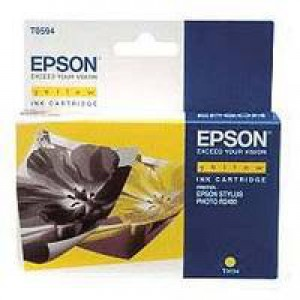Epson Stylus R2400 Inkjet Cartridge Yellow 13ml T0594 C13T059440
