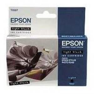 Epson Stylus R2400 Inkjet Cartridge Light Black 13ml T0597 C13T059740