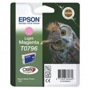 Epson Stylus Photo 1400 Inkjet Cartridge Light Magenta C13T079640