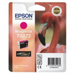 Epson Stylus Photo R1900 Inkjet Cartridge Magenta C13T08734010