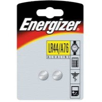 Energizer Speciality Alkaline Battery A76/LR44 Pk 2 623055