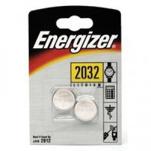 Energizer Special Lithium Battery 2032/CR2032 FSB2 Pk 2 624835