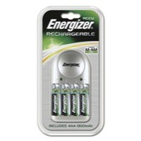 Energizer Value Battery Charger for AA AAA Includes 4xAA 1300mAh Batteries Ref 633157