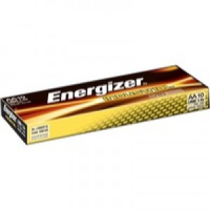 Energizer Industrial Battery AA/LR6 Pack of 10 636105