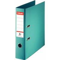 Esselte No1 Power Lever Arch File 75mm A4 Polypropylene Turquoise 811550
