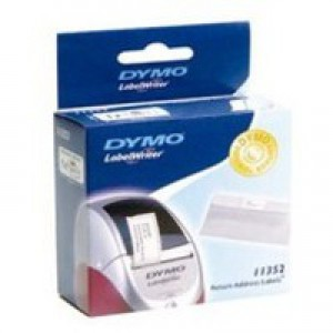 Dymo Return Address Label 54x25mm White S0722520
