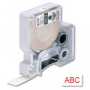 Dymo 1000/5000 Tape 9mm x7m Red/White 40915 S0720700