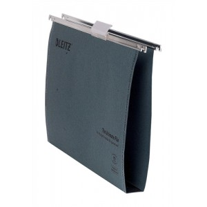 Leitz Ultra Clenched Bar File A4 30mm Green Pack of 50 1743-00-55