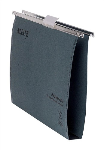 Leitz Ultra Clenched Bar File Foolscap 30mm Pack of 50 1745-00-55
