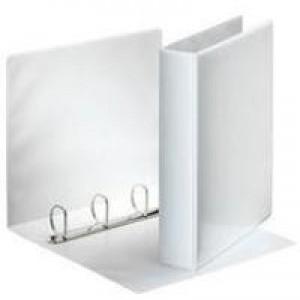 Esselte Presentation 4D-Ring Binder 25mm A4 White 49702