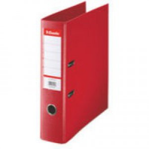 Esselte Lever Arch File PVC A4 75mm Red 48063