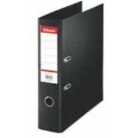 Esselte Lever Arch File PVC A4 75mm Black 48067
