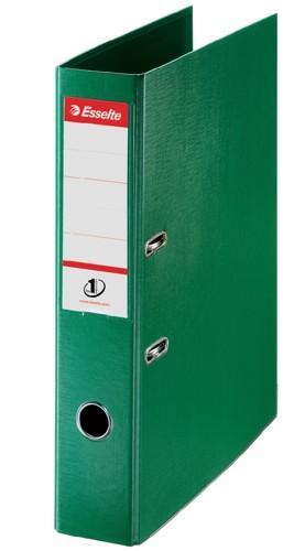 Esselte Lever Arch File Polypropylene Foolscap 75mm Green 48086